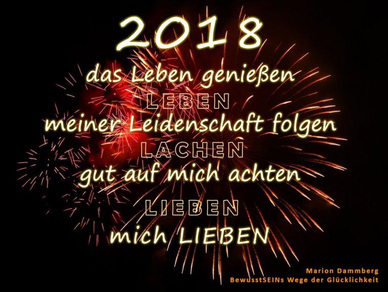 2018 mein Jahr