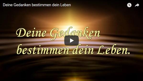 Video Deine Gedanken bestimmen dein Leben von Marion Dammberg BewusstSEINs Wege der Glücklichkeit