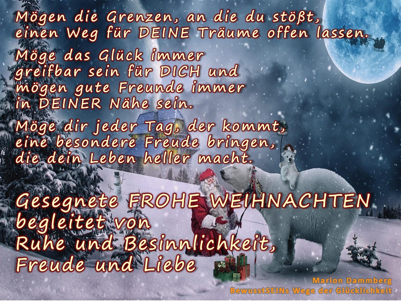Frohe Weihnachten Ich Liebe Dich.Frohe Weihnachten Marion Dammberg Bewusstseinscoaching