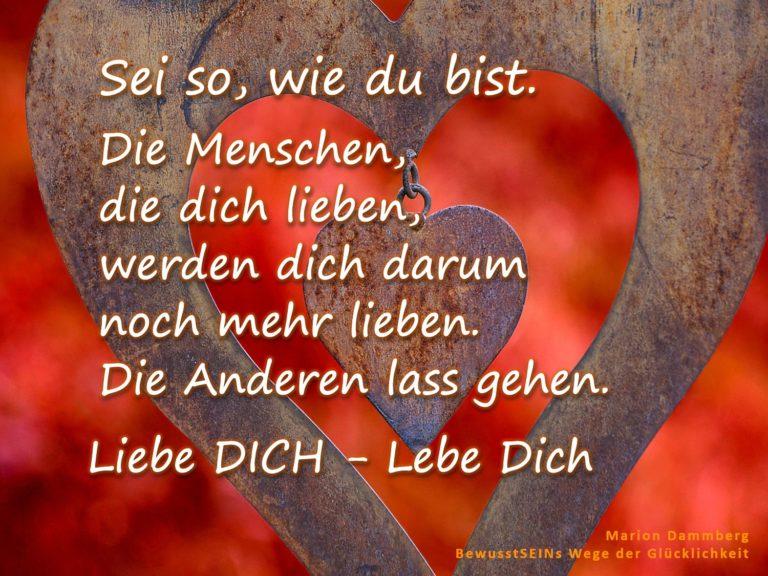 Liebe DICH – Lebe Dich