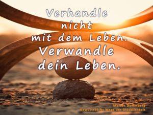 Verhandle nicht mit dem Leben. Verwandle dein Leben. - BewusstSEINs Wege der Glücklichkeit, Marion Dammberg, BewusstSEINs Life Coach