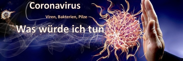 Coronavirus Viren, Bakterien Pilze Was würde ich tun